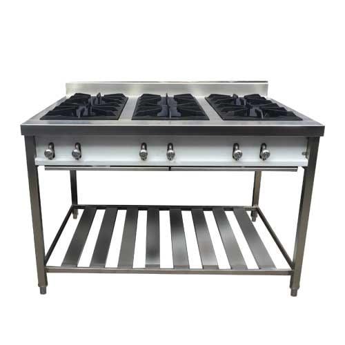 Cocina mural a gas 06 quemadores frionox frionox for Fabrica de cocinas industriales